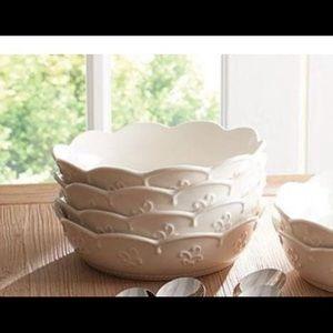 Princess House Marbella Pasta Bowl's